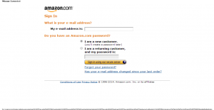 Amazon.com Sign In