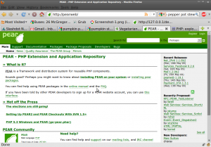 Screenshot-PEAR - PHP Extension and Application Repository - Mozilla Firefox